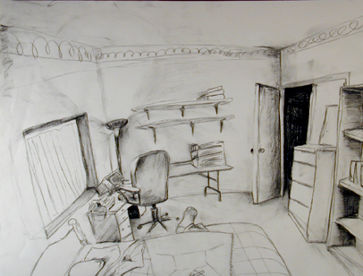 Bedroom Pencil Drawing Bedroom Design Ideas